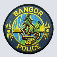 Bangor, ME Police Department Patch