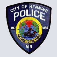 Henning, MN Police Patch