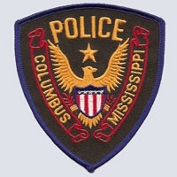Columbus, MS Police Patch