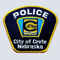 Crete Nebraska Police Patch