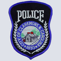 Claremont, NC Police Patch