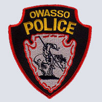 Owasso, OK Police Department Patch