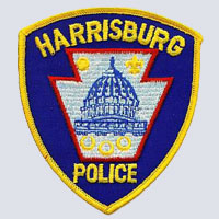 Harrisburg PA Police Patch