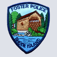 Foster, RI Police Patch