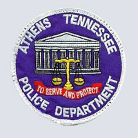 Athens, TN Police Patch