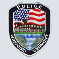 Winooski, VT Police Department Patch