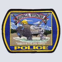 Buffalo, WY Police Patch