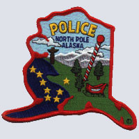 North Pole, AK Police Shoulder Patch