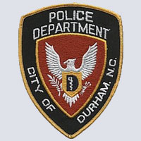 Durham, NC Police Patch