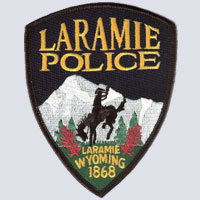Laramie, WY Police Patch
