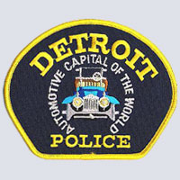 Detroit, MI Police Department Patch