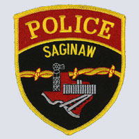 Saginaw, MI Police Patch