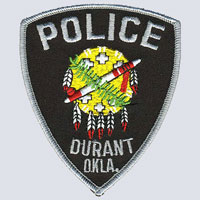 Durant, OK Police Patch