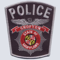 Crofton MD, Police Shoulder Patch