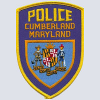 Cumberland, MD Police Patch