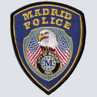 Madrid, IA Police Shoulder Patch