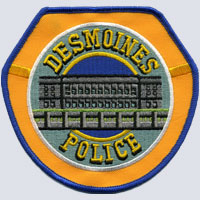 Des Moines, IA Police Patch