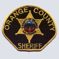 Orange County, CA Sheriff's Patch