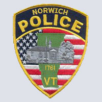Norwich, VT Police Patch