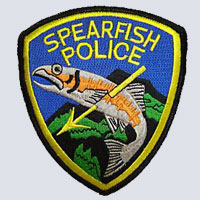 Spearfish, SD Police Patch