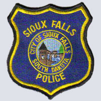 Sioux Falls, SD Police Patch