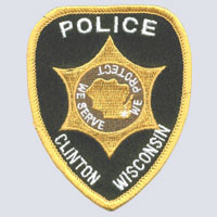 Clinton, WI Police Patch