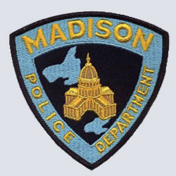 Madison, WI Police Patch