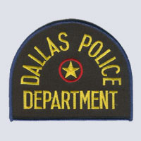 Dallas, TX Police Patch
