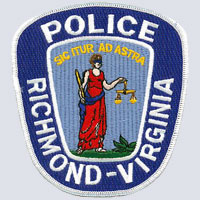 Richmond, VA Police Patch