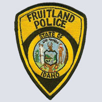 Fruitland, ID Police Shoulder Patch