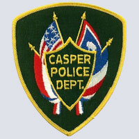 Casper,WY Police Shoulder Patch