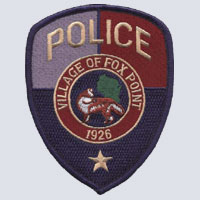 Fox Point, WI Police Patch