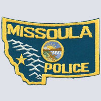 Missoula, MT Police Patch