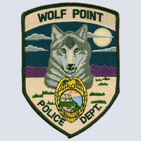 Wolf Point, MT Police Patch