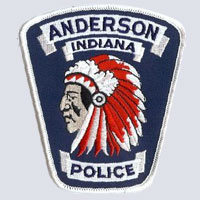 Anderson, IN Police Patch