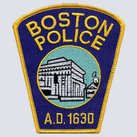 Boston, MA Police Patch