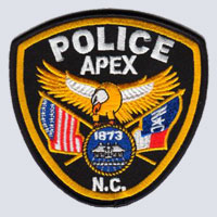 Apex, NC Police Patch
