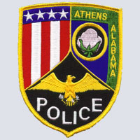 Athens, AL Police Patch