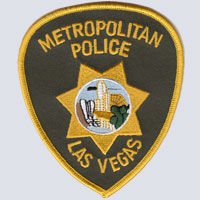 Las Vegas, NV Police Patch
