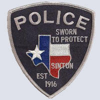 Sinton, TX Police Shoulder Patch