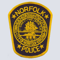Norfolk, VA Police Patch