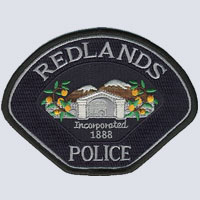 Redlands, CA Police Patch