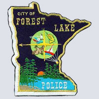 Forest Lake, MN Police Patch