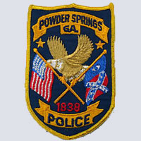 Powder Springs, GA Police Patch