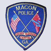 Macon, GA Police Patch