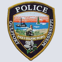 Gulfport, MS Police Patch