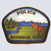 Rathdrum, ID Police Patch