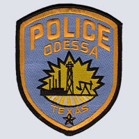 Odessa, TX Police Patch