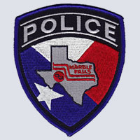 Marble Falls, TX Police Patch