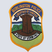 Burlington, VT Police Patch